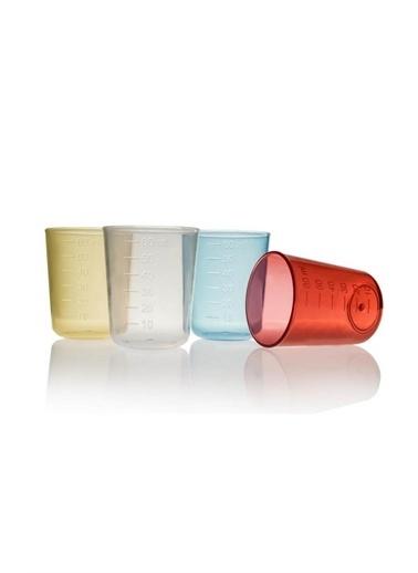 BabyJem 60 Ml 4'Lü Renkli Eğitsel Ilk Bardağım Renkli